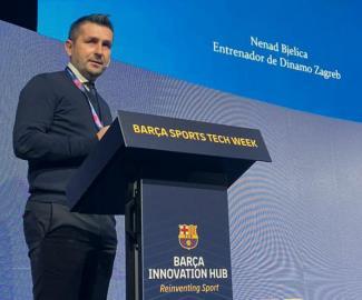 12.11.2019. Vijesti Trener Bjelica održao predavanje u FC Barcelona 0